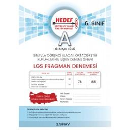 6.SINIF-HEDEF DENEME 3 ONLİNE