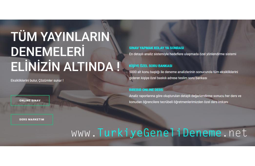 Türkiye Geneli Denemeleri